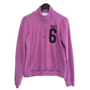 PINK Victoria's Secret sweatshirt 1/4 zip